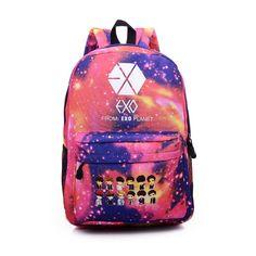 2016 Top New Fashion Exo Backpack Women Bag Ladies Mochila Feminina Backpacks For Teenage Girls School Backpack