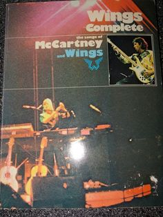 Wings Complete The Songs of McCartney and Wings Music Sheet Book 1977 RARE