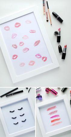 Makeup Wall Art