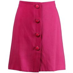 Preowned Gianni Versace Couture 1990s Vintage Pink Silk Skirt With... ($350) ❤ liked on Polyvore featuring skirts, pink, versace skirt, versace, silk skirt, vintage skirts and pink knee length skirt