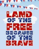 FREE patriotic printables.