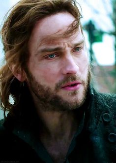 Tom Mison in Sleepy Hollow. I basically think Ichabod is real now :/