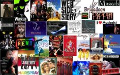 Musicals, musicals, & more musicals.