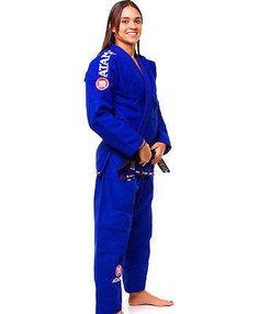 Atama Women's GI Mundial Model #9 - Blue Brazilian Jiu Jitsu Judo Kimono