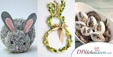 Cute DIY craft ideas for Easter that bring spring into your home Cute Diys, Easter Crafts, The Hobbit, Place Card Holders, Diy Crafts, Food, Decor, Lifehacks, Advent