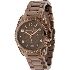 Michael Kors Brown Womans watch.