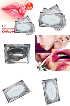 [Visit to Buy] 1Piece Hot Selling Lip Mask Crystal Collagen Lips Care Pads Lip Smackers Face Care   #Advertisement