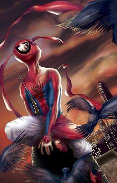 #Spiderman #Fan #Art. (Spider-Man India Vol.1 #1 Cover) By: Jeevan Kang. (THE * 5 * STÅR * ÅWARD * OF * MAJOR ÅWESOMENESS!!!™) [THANK U 4 PINNING!!!<·><]