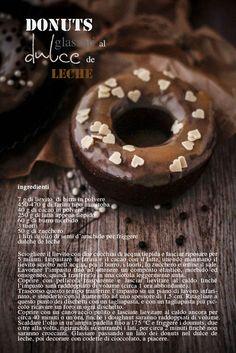 - VANIGLIA - storie di cucina: C'è solo una cosa più buona dei donuts: i donuts al cacao glassati al dulce de leche