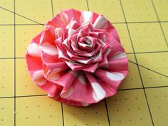 #Duck Tape Accessory Flower Pin Rose Pen You Pick by TUTreasures, $6.50 #DuckTape #ducttape #crafts