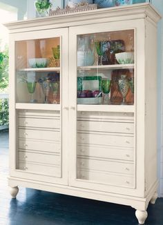 YES!! PAula Deen has a furniture line and I need all of it!! Paula Deen Linen The Bag Lady's Cabinet
