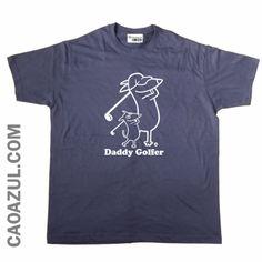 T-Shirt Cão Azul
