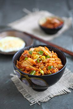 Kimchi Fried Rice, so yummy and easy to make | rasamalaysia.com