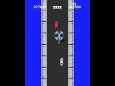 "Spy Hunter is a 1983 arcade game developed and released by Bally Midway. The game draws inspiration from the James Bond films (especially the Lotus in ""The Spy Who Loved Me"" (1977))"