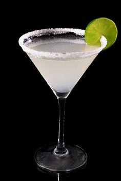 Die Margarita ist ein Klassiker aus Mexiko, der sauer und salzig schmeckt.