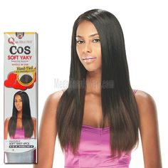 Human Hair Weave Milky Way Que Yaky Que 14 Quot Color 1b By