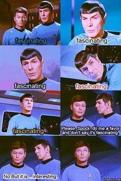 Star Trek: The Original Series Fan Art: Fascinating!