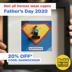 Fathers Day Gifts, Gifts For Dad, Lego Figures, All Hero, Super Dad, Lego Super Heroes, Big Kids, Personalized Gifts, Projects To Try