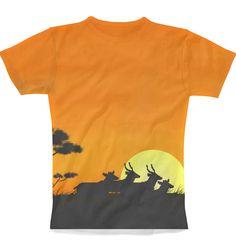 Serengeti Sunset T-Shirt
