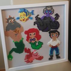 The Little Mermaid hama beads by cosmichelen