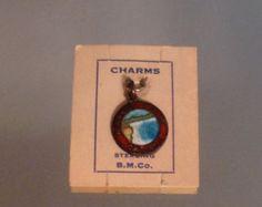 VIntage Niagara Falls BM Co. Sterling Charm Canada