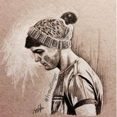 Amazing detailed drawing of louis Tomlinson