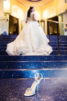 Cinderella Moment at the Disneyland hotel for this beautiful bride