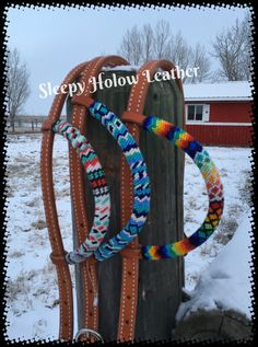Headstall One ear headstall Horse tack Horse by SleepyHolowLeather