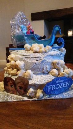 Disney Frozen cake - made by Jane  #ZealTreats #LifeatZeal #Cake #Frozen #Disney