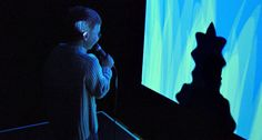 Messa di Voce (2003: Golan Levin, Zachary Lieberman, Jaap Blonk, and Joan La Barbara)augments the speech, shouts and songs produced by a pair of vocalistswith real-time interactive visualizations.