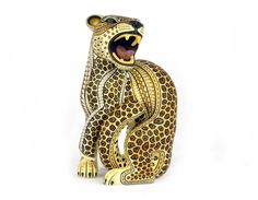 Jaguar, Sell My Clothes, Jungle Cat, Colorful Animals, Animal 2, Arte Popular, Mexican Folk Art, Sculpture Art, Art Pieces