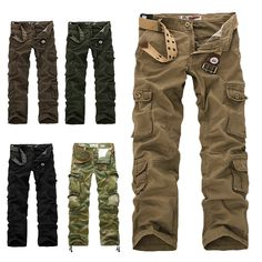 ARMY CARGO CAMO COMBAT MILITARY MENS TROUSERS PANTS CAMOUFLAGE HIGH QUALITY in Clothes, Shoes & Accessories, Men's Clothing, Trousers | eBay