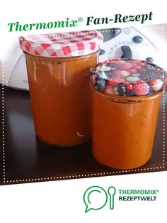 Tomatensauce auf Vorrat von Ein Thermomix ® Rezept aus der Kategorie S… Tomato sauce in stock from A Thermomix ® recipe from the Sauces / Dips / Spreads category www.de, the Thermomix® Community. A Food, Food And Drink, Kneading Dough, Ginger And Honey, Pan Bread, Smart Kitchen, Marinara Sauce, Artisan Bread, Refreshing Drinks
