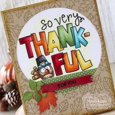 """Create an adorable and easy Thanksgiving card with Bubble Greetings - Thankful. Set includes one """"So Very Thankful"""" stamp with a cute turkey pilgrim that you can color. Diy Thanksgiving Cards, Friends Thanksgiving, Fall Cards, Holiday Crafts For Kids, Kids Christmas, Holidays With Kids, Cards For Friends, Halloween Cards, Card Tags"""