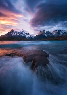 Patagonian winds- Lago Pehoe Photo by Felix Inden -- National Geographic Your Shot