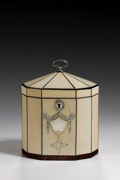 Ivory Tea Caddy, c 1790
