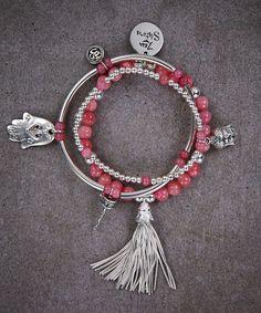 Zen Pink Jade Trio of Bracelets – Zen Sisters Jewelry