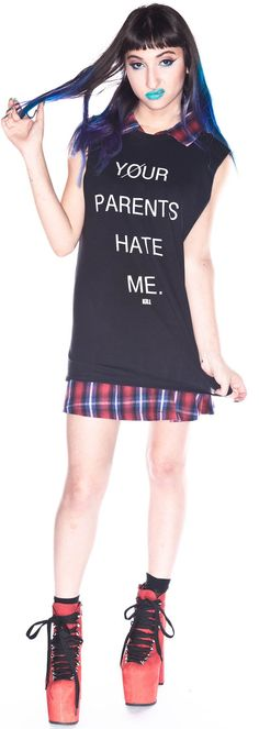 Kill Brand Your Parents Hate Me Tank Top
