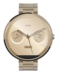 360 Moto Gold - Online shopping for Smart Watches best cheap deals from a wide range of top quality Smart Watches at: topsmartwatchesonline.com