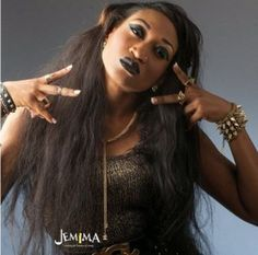 Nollywood actress shared this pic from a photoshoot.. She looks the gangster woman alright! Like her?
