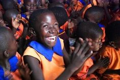 kampala, uganda...absolutely nothing better in the world than seeing these smiling faces