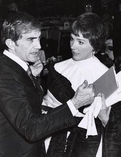 Blake Edwards and Julie Andrews during Tribute to Moss Hart at USC in Los Angeles California United States Blake Edwards, Eliza Doolittle, Julie Andrews, Renaissance Dresses, Vampire Academy, Hallmark Movies, Fair Lady, Los Angeles California, Green Gables