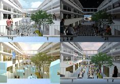 Gallery of NP2F Wins Competition for New Mediterranean Institute of Cities and Territories in Marseille - 6
