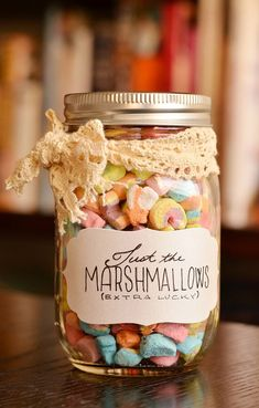 Pick all the marshmallows out of a box of Lucky Charms.
