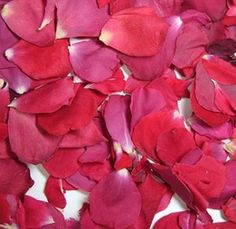 Rose Petals Freeze Dried Red (5 cups/pkg)