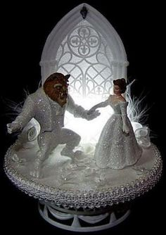 Lighted Beauty and the Beast Wedding Cake Topper. for Dani's wedding board. Check out the board I pinned this from. Lots of Beauty & the Beast. Beauty And The Beast Wedding Cake, Disney Beauty And The Beast, Wedding Beauty, Dream Wedding, Wedding Day, Wedding Ceremony, Wedding Disney, Dream Party, Disney Weddings
