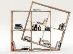 Resource Furniture has space-saving storage solution for every room in every home. Modular Bookshelves, Modular Shelving, Bookcase Shelves, Resource Furniture, Multipurpose Furniture, Multifunctional Furniture, Furniture Storage, Shelving Design, Bookshelf Design