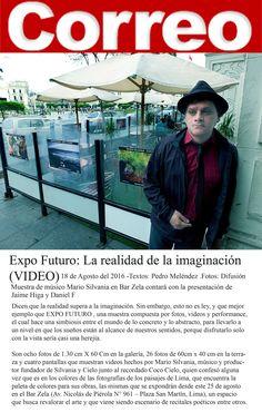 MARIO SILVANIA - DIARIO CORREO - EXPO FUTURO . PLAZA SAN MARTIN