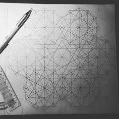 Shapes defined.. erasing next  Islamic Geometric pattern  #islamicgeometry #islamicgeometricdesign #islamicgeometricpatterns #islamicgeometricart #doodle #art #sketch #artistblock #pencil #pencilart #pencilartist #geometricmandala #mandala #dot #line #ellipse #draw #drawing #featuregalaxy #abstract #abstractart #circle