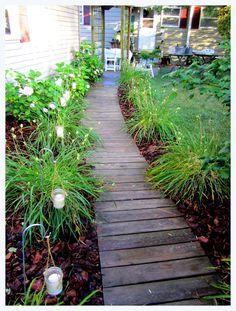 Backyard Walkway Ideas find this pin and more on i dream of gardens backyard pathway idea Httpthecorsoncottageblogspotcom201207outdoor Backyard Walkwaygarden